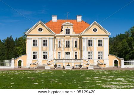 Palmse Manor Exterior, Baroque Style, 18Th Century