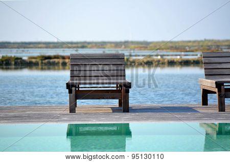 Deckchair By The Sea