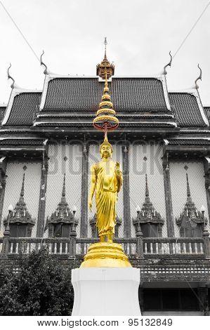 Buddha Statue In Wat Ban Rai