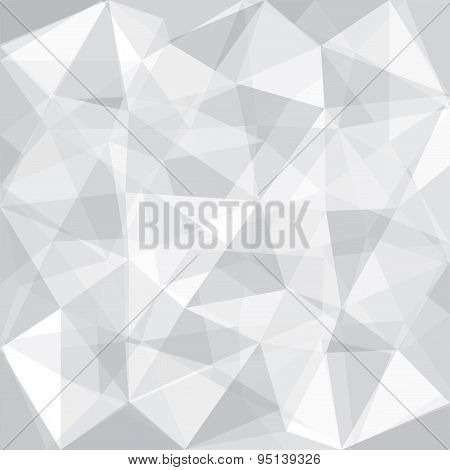 Greyscale Tone Low Polygon Overlay