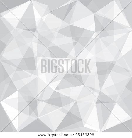Greyscale Tone Low Polygon Overlay