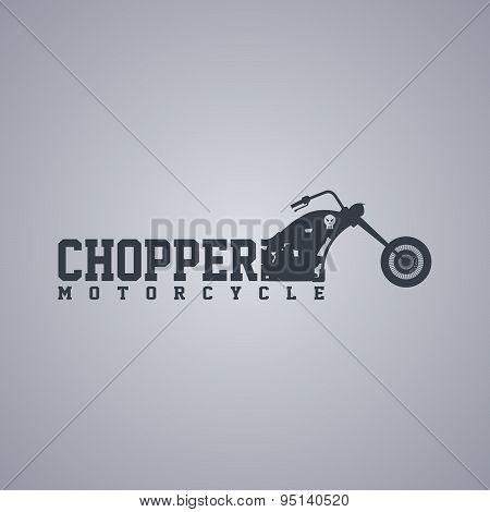 Chopper Motorcycle