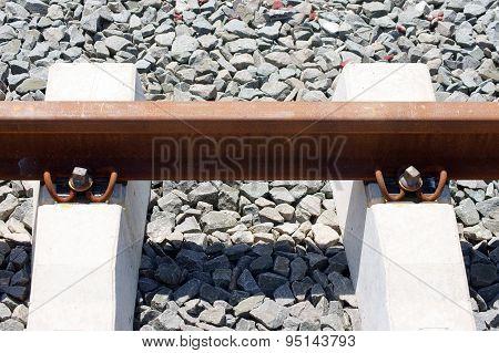 Rail Closeup