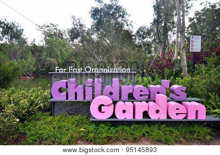 Children Garden In Garden By The Bay, Singapore