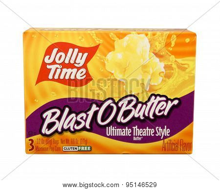 Box Of Jolly Time Popcorn