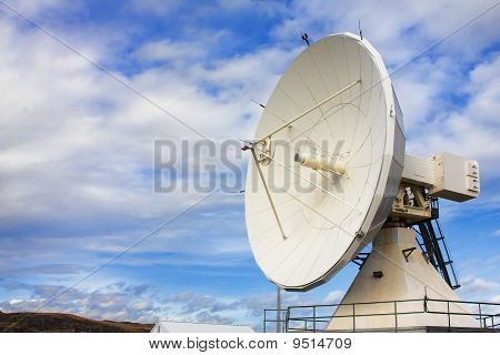Satellite Dishes At National Radio Astronomy Observatory