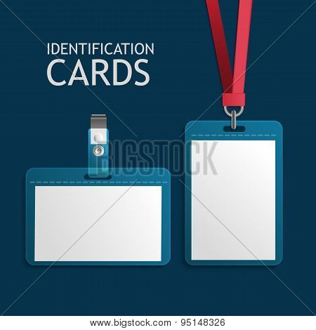 Badge Identification, Plastic Id Cards
