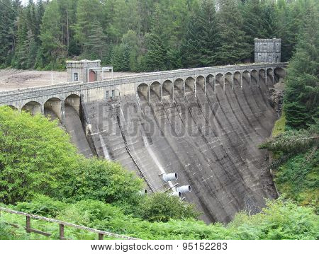 Laggan Hydroelectric Dam, Scotland