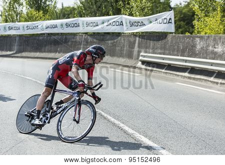 The Cyclist Tejay Van Garderen - Tour De France 2014
