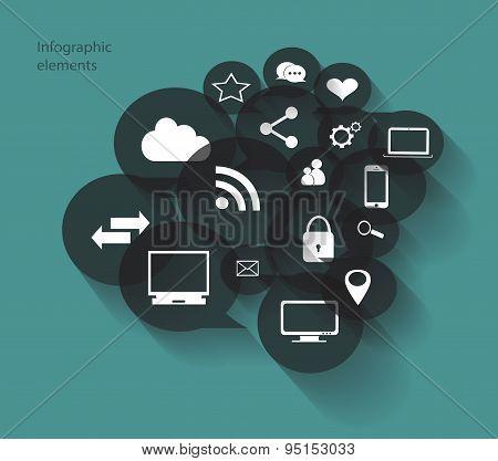 Infogrpahic Media Icons