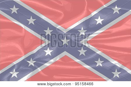 Confederate Silk Flag