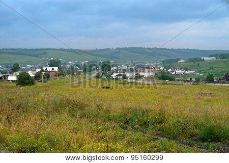 Irkutsk Region. Tulun. Siberian Nature.