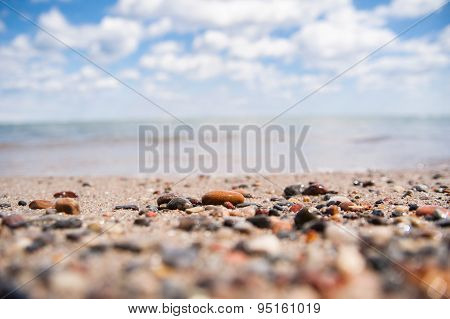 Beach and pebbles