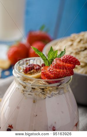 Domestic Strawberry Yogurt