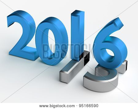3D Numbers. 2016 Year Over 2015