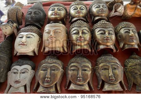 Asia Myanmar Nyaungshwe MARKET BUDDHA