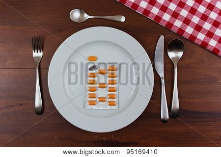 Pills In A Plate