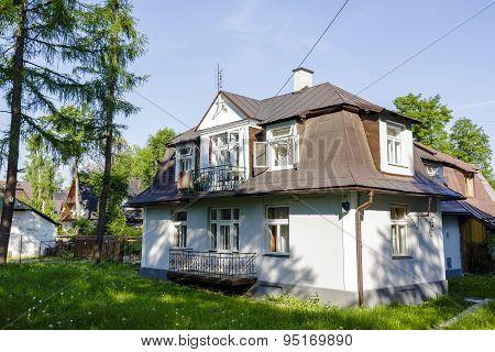 Old Villa In City Of Zakopane