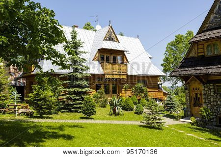 Wooden Construction House, Zakopane
