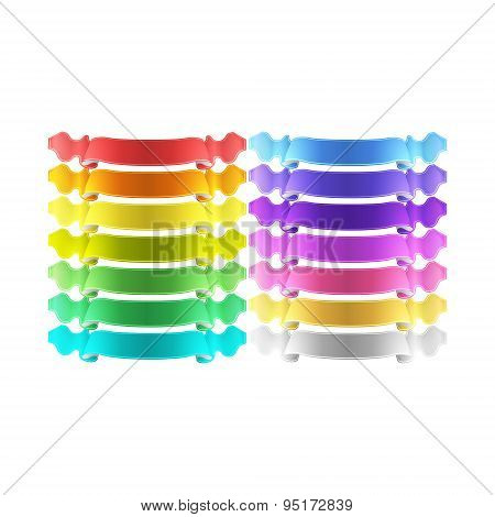 Vector Ribbons Set