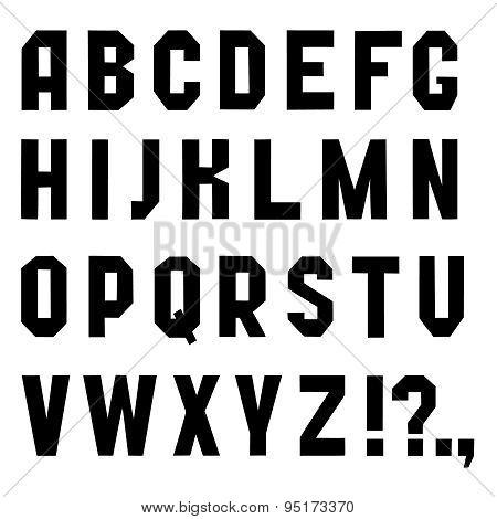 Font chopped