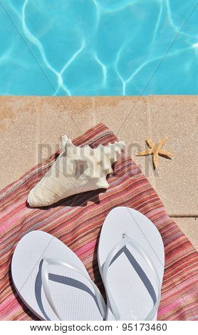 poolside swimming pool holiday summer scenic