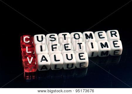 Clv Customer Lifetime Value Black