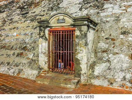 San Felipe De Barajas Fortress Jail Cartagena Colombia