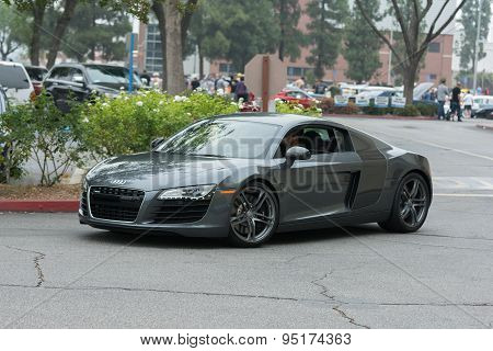 Audi R8 Coupe Car On Display