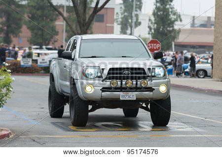 Toyota Tacoma Car On Display