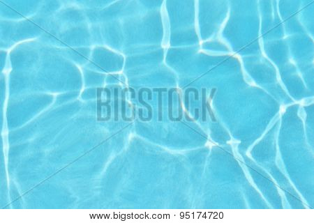 Poolside Swimming Pool Holiday Vacation Scenic Water Ripple Background