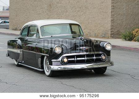 Chevrolet Bel Air Car On Display