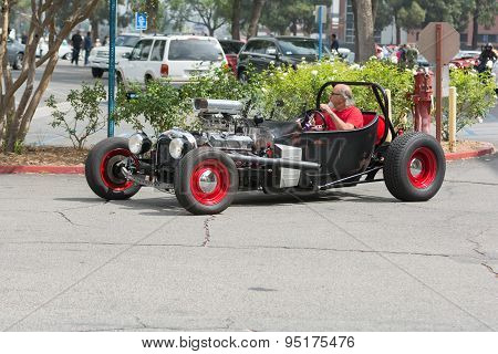 Hot Rod Car On Display