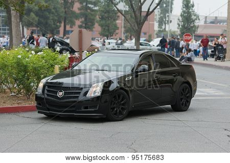 Cadillac Cts Car On Display