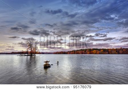 Autumn On Loch Raven
