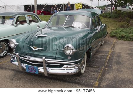 1952 Kaiser Virginian Traveler Car