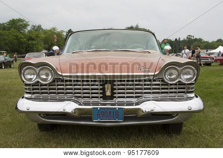 1959 Plymouth Sport Fury Car Grill View