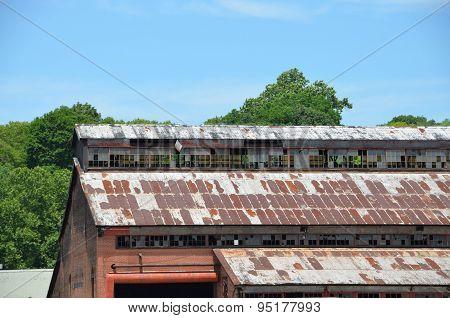 Abandoned Storage Warehouse