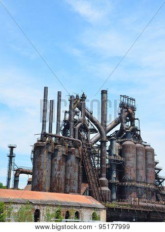 Steel Mill Blast Furnace