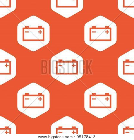 Orange hexagon accumulator pattern