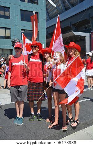 Canadian fans