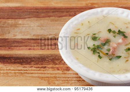 Caldo Verde - Portuguese, Brazilian Soup