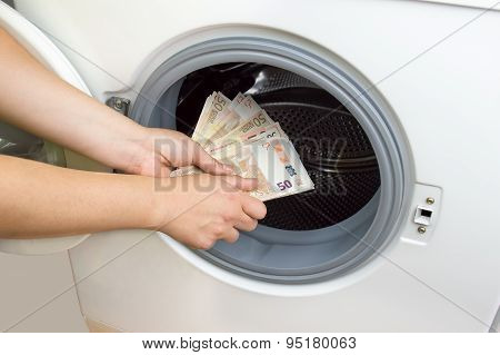 Crime Of Money Laundry