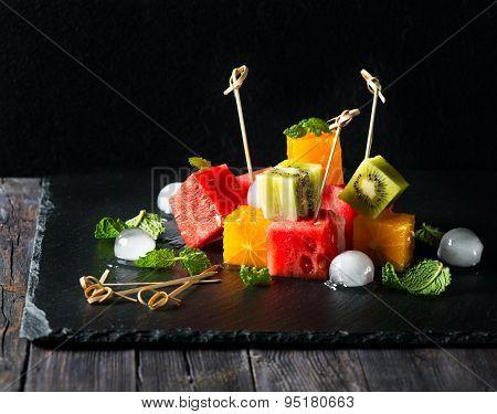 Fresh Organic Fruit Salad