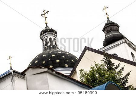 Church cupola and roof
