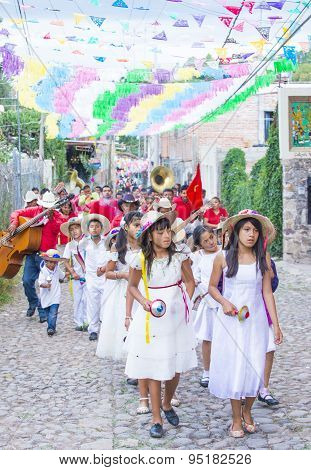 Festival Of Valle Del Maiz