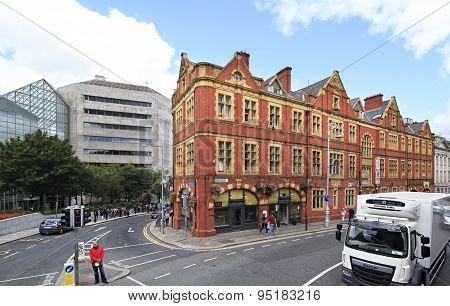 Architecture of the city Dublin.