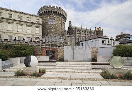 Garda Memorial Garden in Dublin Castle