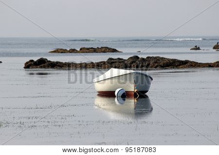 Small Boat on a Mooring