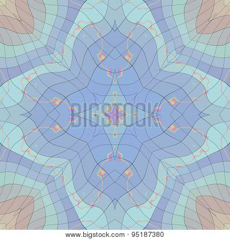 Seamless Pastel Mosaic Pattern Or Background 2